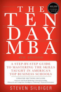 Link to an enlarged image of The Ten-Day MBA : A Step-by-Step Guide to Mastering the Skills Taught in America's Top Business Schools (4th)