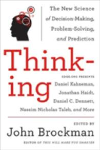 Link to an enlarged image of Thinking : The New Science of Decision-Making, Problem-Solving, and Prediction