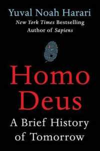 Link to an enlarged image of Homo Deus : A Brief History of Tomorrow