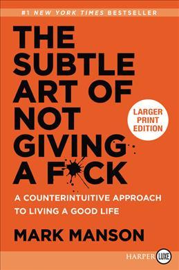 Books Kinokuniya: The Subtle Art of Not Giving a Fuck : A