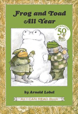 Link to an enlarged image of Frog and Toad All Year (An I Can Read Book) (Reprint)