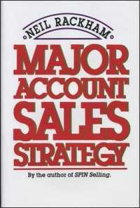 Link to an enlarged image of Major Account Sales Strategy
