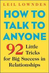 Link to an enlarged image of How to Talk to Anyone : 92 Little Tricks for Big Success in Relationships (2nd)