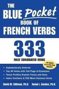Link to an enlarged image of The Blue Pocket Book of French Verbs : 333 Fully Conjugated Verbs