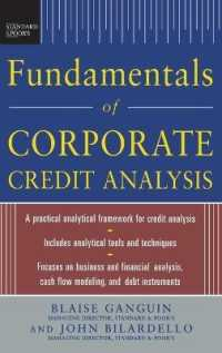 Link to an enlarged image of Fundamentals of Corporate Credit Analysis (Standard & Poor's)