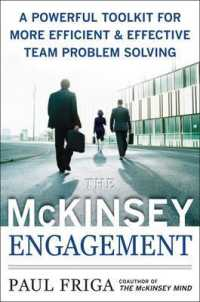 Link to an enlarged image of The McKinsey Engagement : A Powerful Toolkit for More Efficient & Effective Team Problem Solving