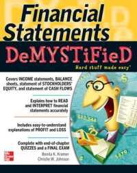 Link to an enlarged image of Financial Statements Demystified : A Self-Teaching Guide (Demystified)