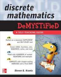 Link to an enlarged image of Discrete Mathematics DemystiFied (Demystified)