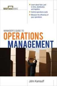 Link to an enlarged image of Manager's Guide to Operations Management (Briefcase Books)