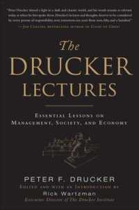 Link to an enlarged image of The Drucker Lectures : Essential Lessons on Management, Society, and Economy