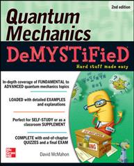 Link to an enlarged image of Quantum Mechanics Demystified (Demystified) (2nd)