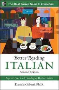 Better Reading Italian (Better Reading S... by Gobetti, Daniela