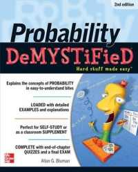 Link to an enlarged image of Probability DeMYSTiFieD (Demystified) (2nd)