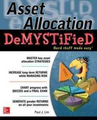 Link to an enlarged image of Asset Allocation DeMYSTiFieD (Demystified)