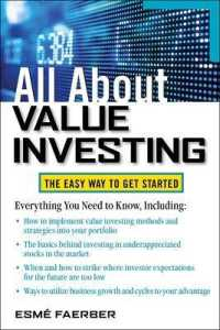 Link to an enlarged image of All about Value Investing (All about Finance)