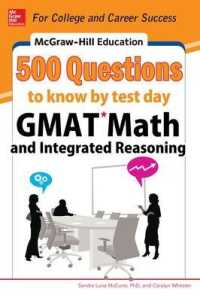 Link to an enlarged image of McGraw-Hill Education 500 GMAT Math and Integrated Reasoning Questions to Know by Test Day (Mcgraw Hill's 500 Questions to Know by Test Day)