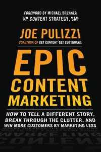 Link to an enlarged image of EPIC Content Marketing : How to Tell a Different Story, Break through the Clutter, and Win More Customers by Marketing Less
