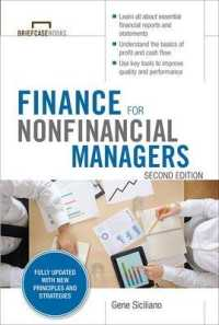 Link to an enlarged image of Finance for Nonfinancial Managers (Briefcase Books) (2nd)