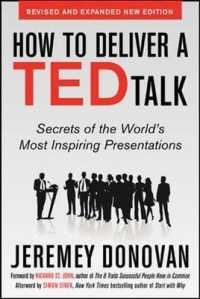 Link to an enlarged image of How to Deliver a TED Talk : Secrets of the World's Most Inspiring Presentations