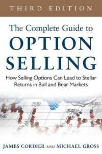 Link to an enlarged image of The Complete Guide to Option Selling : How Selling Options Can Lead to Stellar Returns in Bull and Bear Markets (3rd)