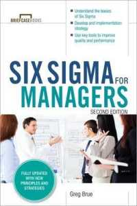 Link to an enlarged image of Six Sigma for Managers (Briefcase Books) (2nd Updated)
