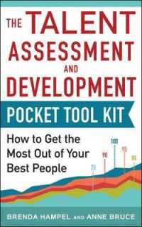 Link to an enlarged image of The Talent Assessment and Development Pocket Tool Kit : How to Get the Most Out of Your Best People