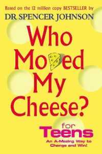 Link to an enlarged image of Who Moved My Cheese for Teens -- Hardback