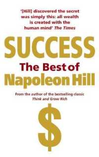Link to an enlarged image of Success: the Best of Napoleon Hill -- Paperback / softback