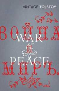 Link to an enlarged image of War and Peace -- Paperback / softback