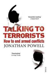 Link to an enlarged image of Talking to Terrorists : How to End Armed Conflicts -- Paperback / softback