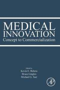 Link to an enlarged image of Medical Innovation : Concept to Commercialization