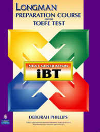 Link to an enlarged image of Longman Prep Course for Toefl Ibt: Student Book+rom (BK&CD-ROM)