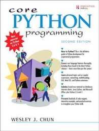 Books Kinokuniya: Core Python Programming (2nd) / Chun