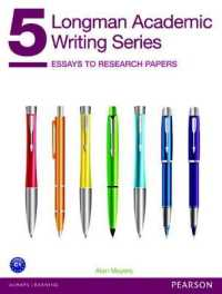 Link to an enlarged image of Longman Academic Writing Series: Level 5 Essays to Research Papers (1e) Student Book