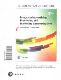 integrated advertising promotion and marketing communications 8th edition pearson