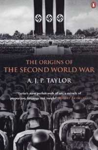 Link to an enlarged image of Origins of the Second World War -- Paperback / softback
