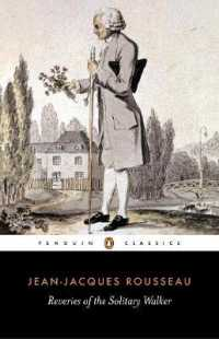 Reveries of the Solitary Walker (Reprint... by Rousseau, Jean-Jacques