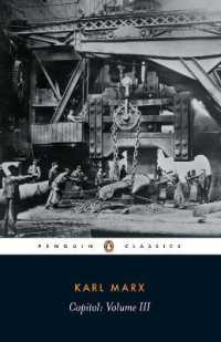 Link to an enlarged image of Capital : A Critique of Political Economy (Penguin Classics) <3> (Reissue)