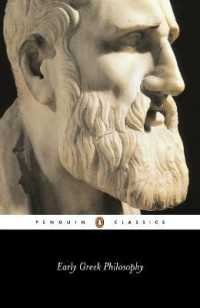 Link to an enlarged image of Early Greek Philosophy (Penguin Classics) (RevisedISED)