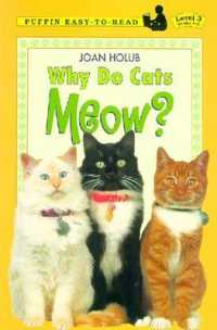 Link to an enlarged image of Why Do Cats Meow? (Penguin Young Readers. Level 3) (Reissue)