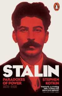 image of Stalin, Vol. I : Paradoxes of Power, 1878-1928 -- Paperback / softback