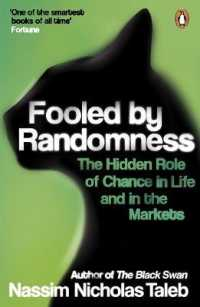 Link to an enlarged image of Fooled by Randomness: The Hidden Role of Chance in Life and in the Markets