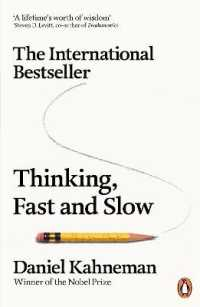Link to an enlarged image of Thinking, Fast and Slow -- Paperback / softback