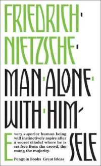 Link to an enlarged image of Man Alone with Himself (Penguin Great Ideas) -- Paperback / softback (English Language Edition)