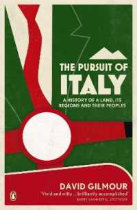 Link to an enlarged image of Pursuit of Italy : A History of a Land, its Regions and their Peoples -- Paperback / softback