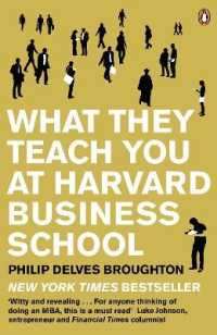 Link to an enlarged image of What They Teach You at Harvard Business School : My Two Years inside the Cauldron of Capitalism -- Paperback / softback