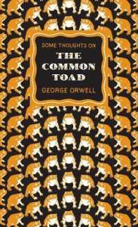 Link to an enlarged image of Some Thoughts on the Common Toad (Penguin Great Ideas) -- Paperback / softback