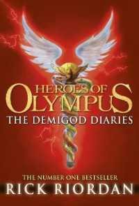 Link to an enlarged image of Demigod Diaries (Heroes of Olympus) -- Hardback