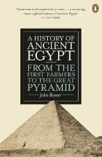 Link to an enlarged image of History of Ancient Egypt : From the First Farmers to the Great Pyramid -- Paperback / softback