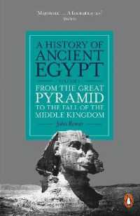 Link to an enlarged image of History of Ancient Egypt, Volume 2 : From the Great Pyramid to the Fall of the Middle Kingdom -- Paperback / softback